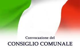 CONVOCAZIONE CONSIGLIO COMUNALE DEL 27 MARZO 2019