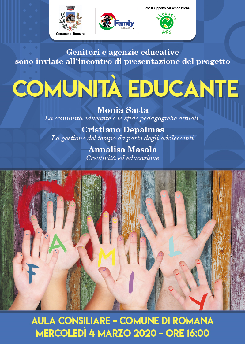 PROGETTO COMUNITA' EDUCANTE