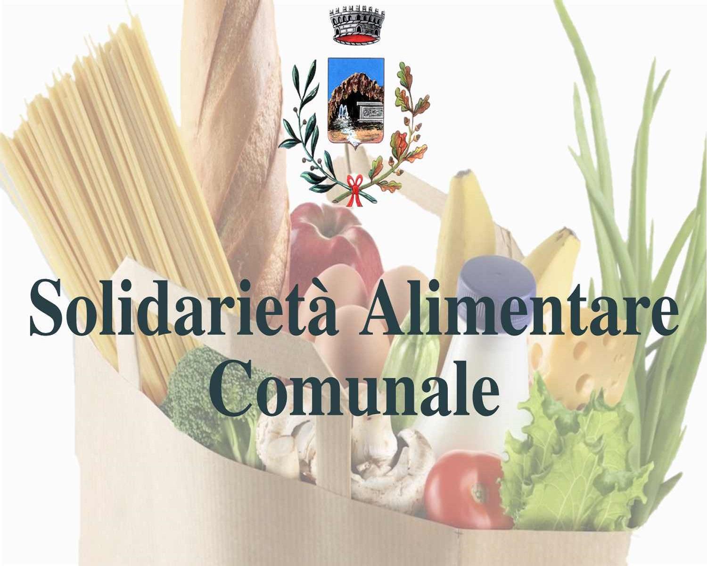 Solidarietà Alimentare Comunale